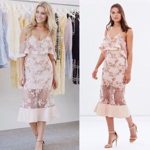 NWT Alice McCall Crystalized Dress Blish Blossom